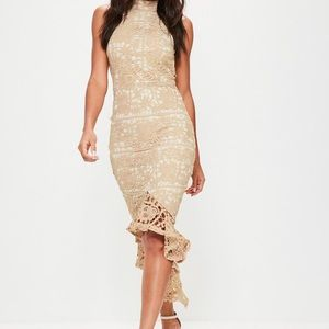 Misguided nude midi dress - sold out!!